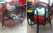 Honda powered positive pressure ventilation fan | $995 | Call (315) 788-8217